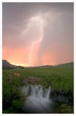 Lightening Waterfall - Copyright MacNeil Lyons Images